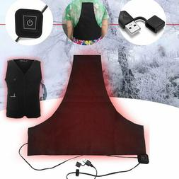 Washable Electric Heating Vest Heated Pad Clothes Winter War