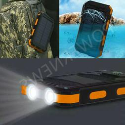 2020 Waterproof 2000000mAh USB Portable Charger Solar Power