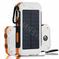2020 Waterproof Solar Power Bank 900000mAh Portable Battery