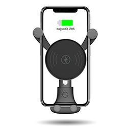 BESTHING 10W Wireless Charger, Wireless Fast Car Mount, Air