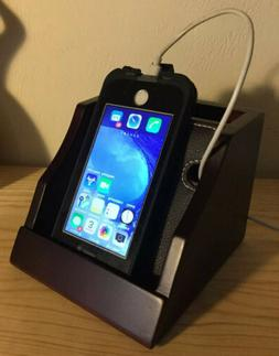 Totes Wooden Universal Cell Phone Charging Station