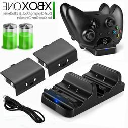 XBOX ONE Dual Charging Dock Station Controller Charger w/ 2